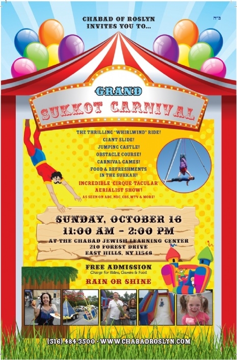 kids carnival flyer template